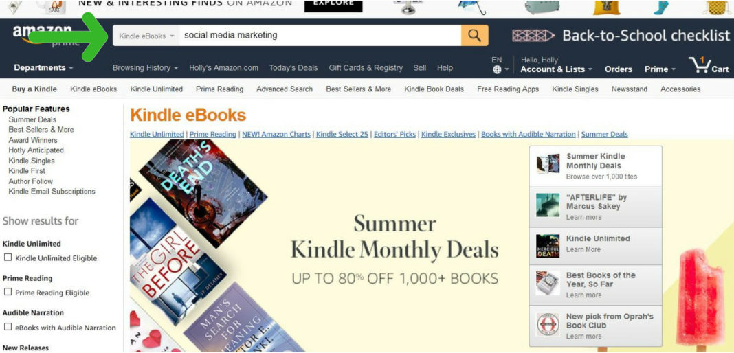where to find free ebooks for kindle
