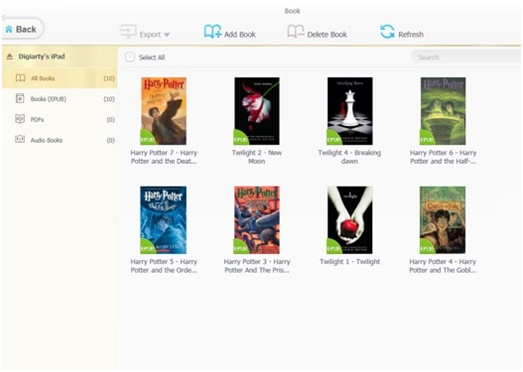 how to transfer epub to iphone using itunes