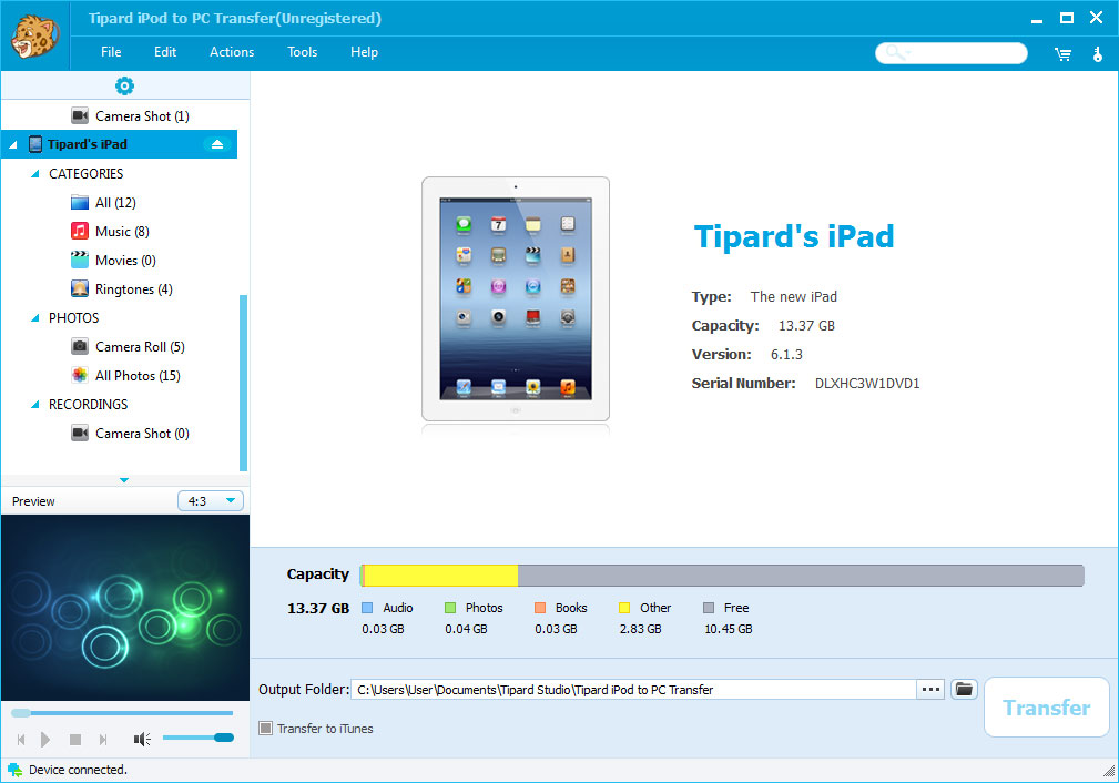 transfer epub books from pc to ipad without itunes